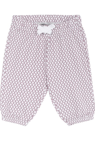 Antebies Kalp Desen Pantolon