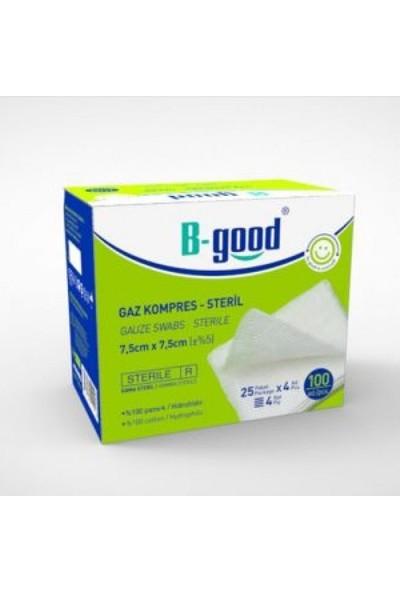 B-Good Steril Gaz Kompres Spanç 7.5x7.5 100 Adet