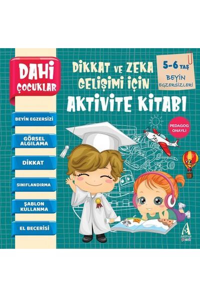 Pedagog Onaylı Beyin Egzersizleri Dahi Çocuklar Aktivite Kitabı 5-6 Yaş