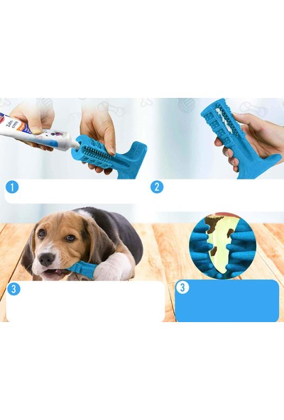 Transformacion Büyük Köpek 15 cm Diş Fırçası Isırma Kemiği 714384