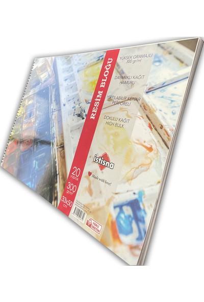 Istisna Kağıt Yırtılabilir Kenarlı Resim Bloğu 300 gr