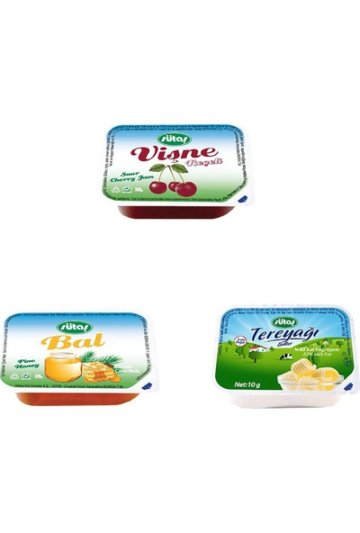 Sütaş Üçlü Kahvaltılık Set