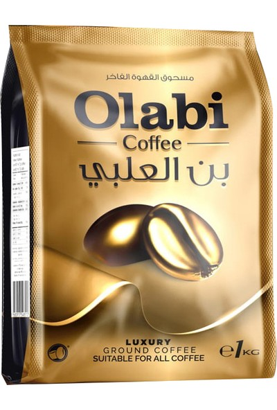 Olabi Robusta Espresso Öğütülmüş Kahve Class B 1 kg