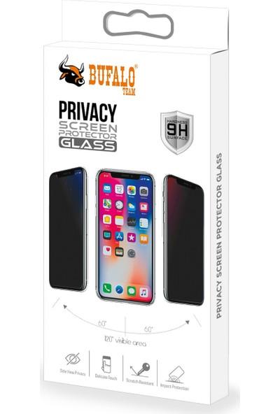 Bufalo Xiaomi Redmi Note 9s / 9 Pro Hayalet Privacy Gizli Cam Ekran Koruyucu Siyah