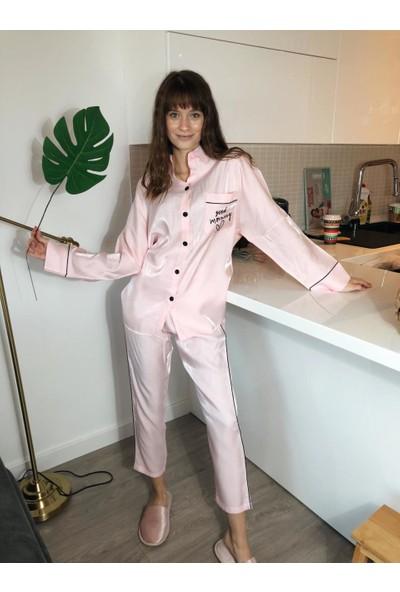 Serbella Bebek Pudrası Good Moning Pijama Takımı L