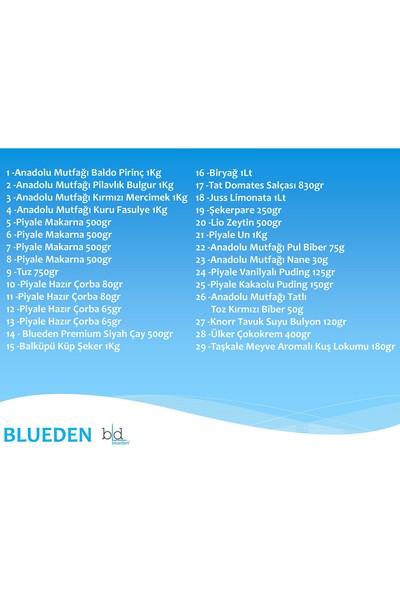 Blueden Ramazan Paketi Ramazan Kumanya Yardım Erzak Kolisi 29 Parça 10 Nolu Paket