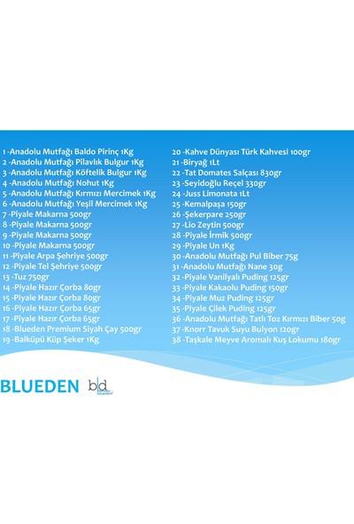 Blueden Ramazan Paketi Ramazan Kumanya Yardım Erzak Kolisi 38 Parça 7 Nolu Paket