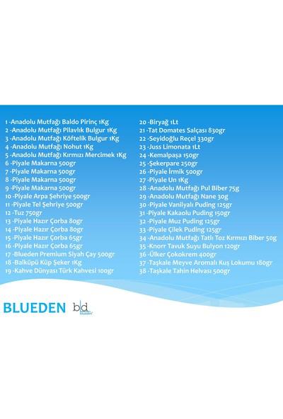 Blueden Ramazan Paketi Ramazan Kumanya Yardım Erzak Kolisi 38 Parça 8 Nolu Paket