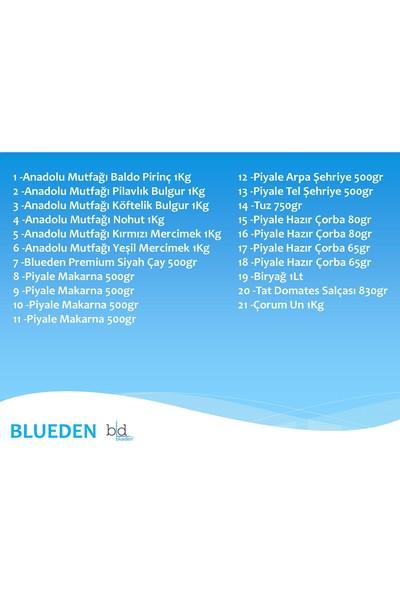 Blueden Ramazan Paketi Ramazan Kumanya Yardım Erzak Kolisi 21 Parça 16 Nolu Paket
