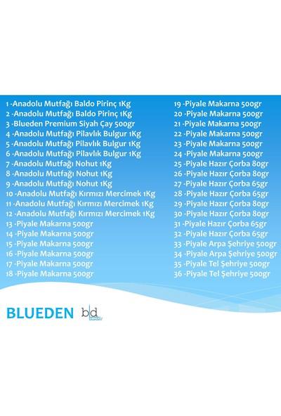 Blueden Ramazan Paketi Ramazan Kumanya Yardım Erzak Kolisi 36 Parça 18 Nolu Paket