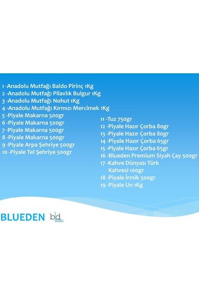 Blueden Ramazan Paketi Ramazan Kumanya Yardım Erzak Kolisi 19 Parça 4 Nolu Paket