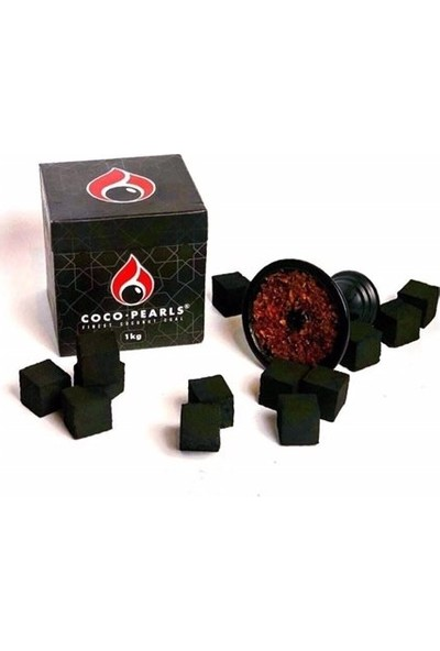 Coco Pearls Nargıle Kömürü 1 kg 64 Adet Kömür 1 Paket