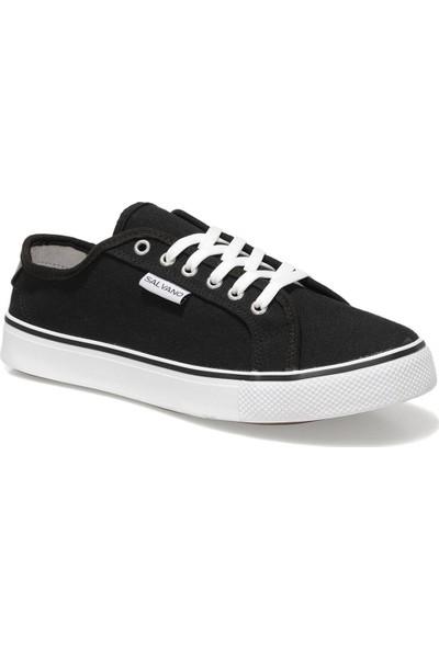 Salvano Garry 1fx Siyah Erkek Kalın Tabanlı Sneaker