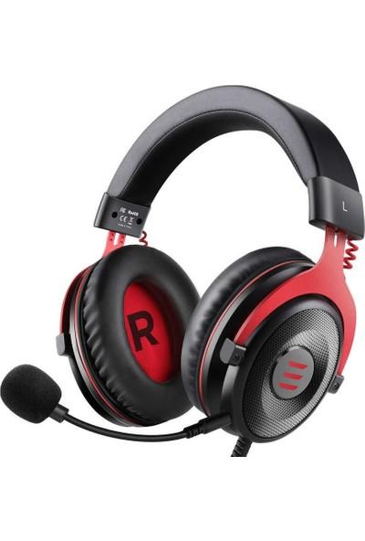Vendas Eksa E900 Tam Boy Kulaküstü 3.5mm Mikrofonlu Oyuncu Kulaklığı Siyah - Kırmızı