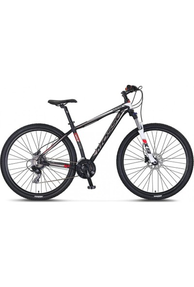 """Mosso Wildfire 27.5 Jant Hd 18"""" 21 Vites Dağ Bisikleti Siyah-Byz"""