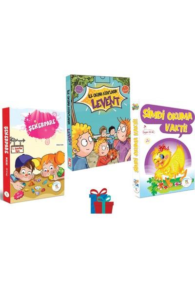 5 Renk Yayınevi 1. Sınıf Şekerpare-Şimdi Okuma Vakti Hikaye Seti-Timaş Levent Ilk Okuma Kitaplarım