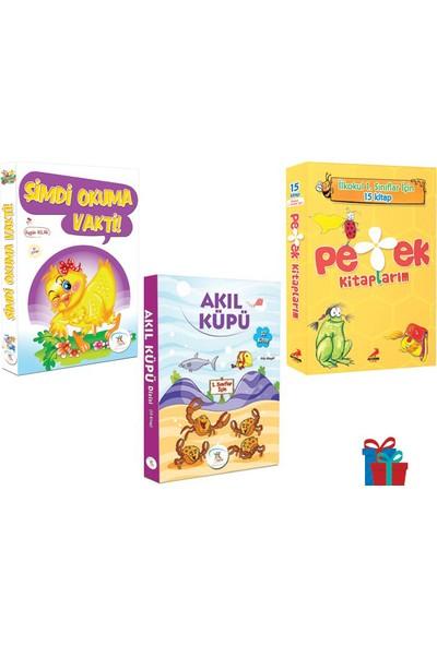 5 Renk Yayınevi 1. Sınıf Şimdi Okuma Vakti-Akıl Küpü Hikaye-Erdem Çocuk Petek Kitaplarım Hikaye Seti