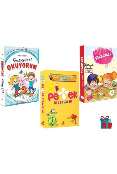 5 Renk Yayınevi 1. Sınıf Çok Güzel Okuyorum-Şekerpare-Erdem Çocuk Petek Kitaplarım Hikaye Seti