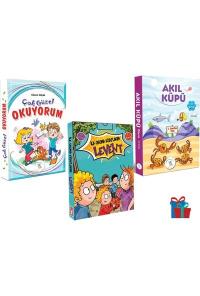 5 Renk Yayınevi 1. Sınıf Çok Güzel Okuyorum-Akıl Küpü Hikaye Seti-Timaş Levent Ilk Okuma Kitaplarım