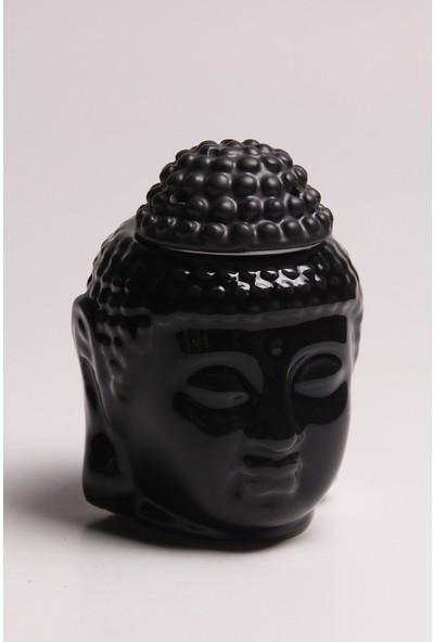 Lara Karma Siyah Buddha Buhurdanlık