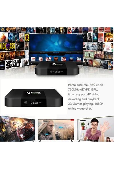 Magbox X-200 2gb Ram 16GB Rom Wifi 4K Android Tv Box + Air Klavye Mouse