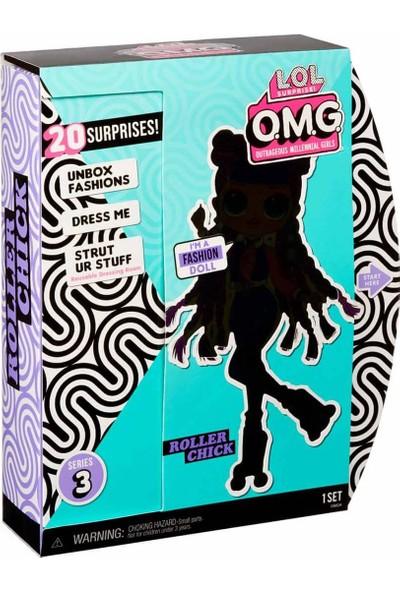 Lol Omg 20 Sürpriz Seri 3 Roller Chıck Çok Gizli Bebekler LLUE0000-567196