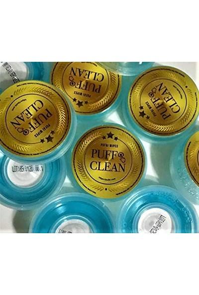 Pufai Puff Clean Pencere, Cam, Ayna, El Aynası Benzer Materyalleri Temizleme Islak Mendil 240 Kapsül 10 Kutu