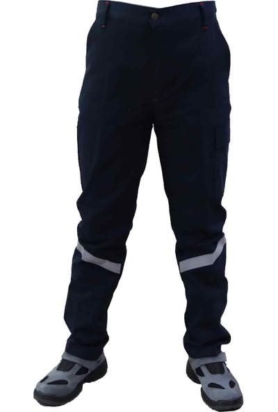 Akyol Iş Pantolonu Harman Kumaş Lacivert