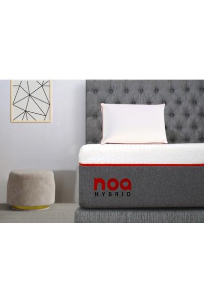 Noa Yatak Amour Visco Jel Teknolojili Anti Statik Örme Yıkanabilir Kumaş Omurga Dostu Yatak 90x200 Tek Kişilik