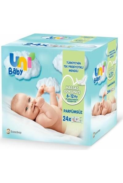 Uni Baby Hassas Dokunuş Islak Mendil 24'lü 1248 Yaprak