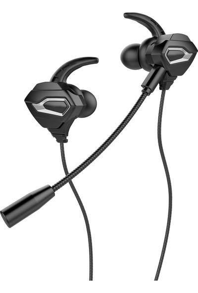 Rampage RM-K46 Cobra 3,5mm Gaming Siyah Kulak Içi Mikrofonlu Kulaklık