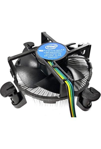 Intel 1150/1155/1156/1151/1151 V2 Uyumlu 4pin Işlemci Fanı