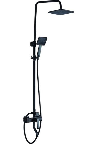 Penta Capella Duş Sistemi + Banyo Bataryası Mat Bronz 5364MB