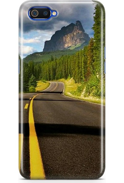 Melefoni Huawei Mate 20 Lite ile Uyumlu Ciudad Serisi Uv Baskılı Silikon Kılıf Flonius x