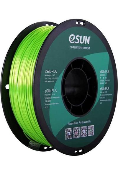 Esun Esilk 1.75MM Parlak Yüzeyli Limon Yeşili Filament - Lime