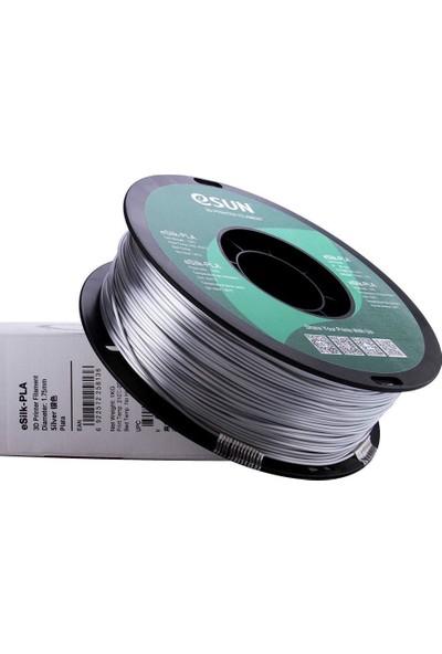 Esun Esilk 1.75MM Parlak Yüzeyli Gümüş Filament - Silver