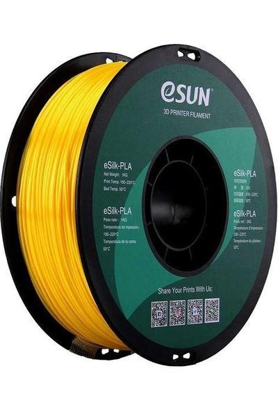 Esun Esilk 1.75MM Parlak Yüzeyli Sarı Filament - Yellow