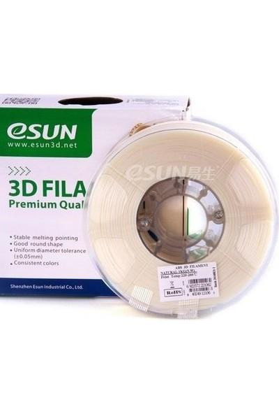 eSUN 2.85 mm Abs+ Filament - Doğal (Natural)