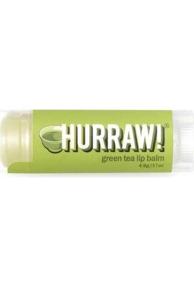 Hurraw Green Tea Tinted Lip Balm/yeşil Çay