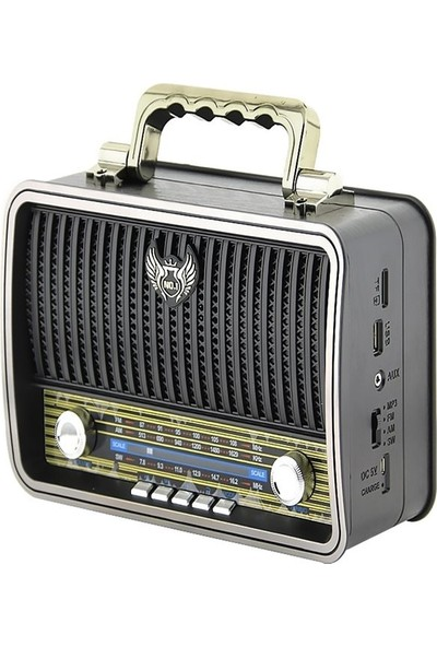 Kemai Bluetooth Nostaljik Radyo MD-1909BT