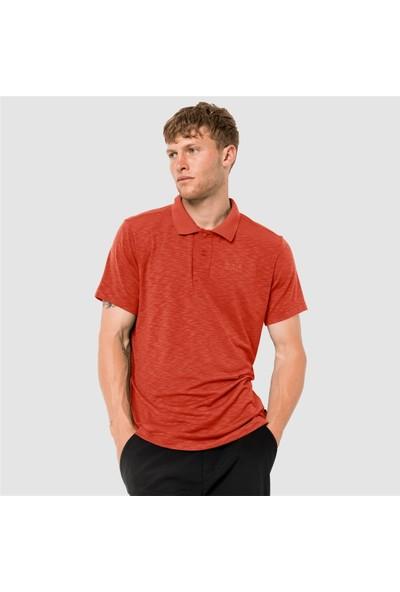 Jack Wolfskin Travel Polo Erkek Outdoor Tişört