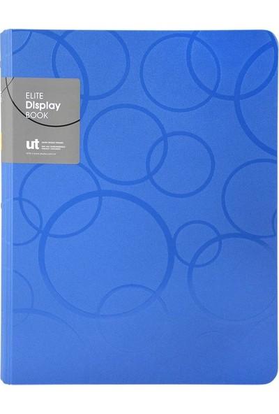 Shuter U1042W Çift Mekanizmalı A4 Sıkıştırmalı Dosya - Mavi