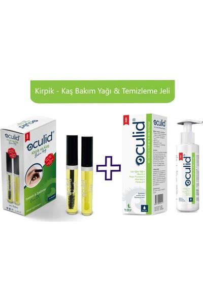 Oculid Kirpik & Kaş Bakım Yağı + Temizleme Jeli (Argan & Çay Ağacı Yağı Destekli)