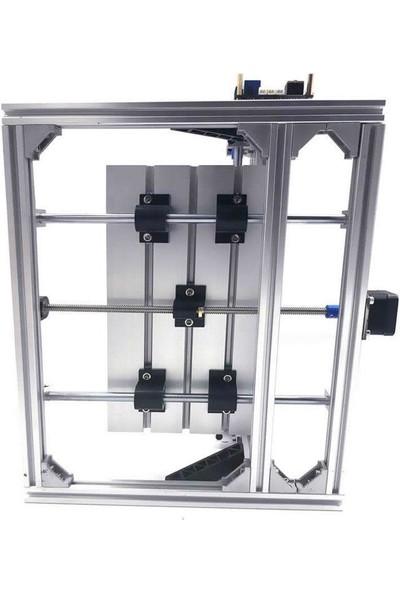 Motorobit CNC2418 15000MW Lazerli Cnc Makinesi - Kesim Tezgahı