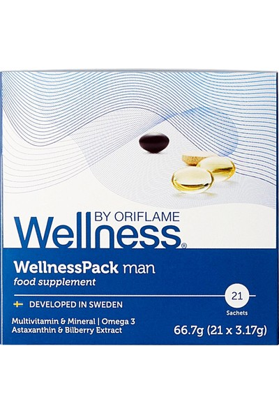 Oriflame Wellness By Oriflame Wellnesspack - Erkekler Için