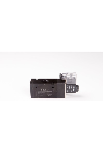 Crox 3V410-15 1/2 3/2 Tek Bobin Valf 220 Ac