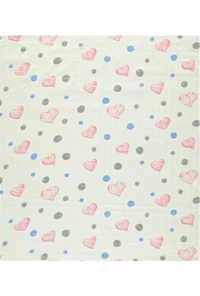 Minidamla Bebek Çok Amaçlı Battaniye 90X100 cm Ekru