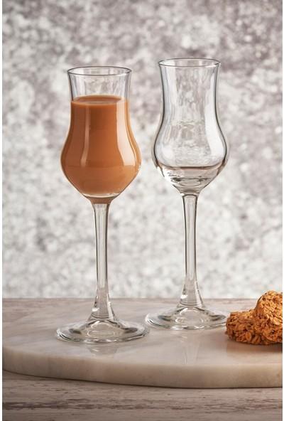 Paşabahçe Grappa Kahve Yanı Su Bardağı - 6'lı