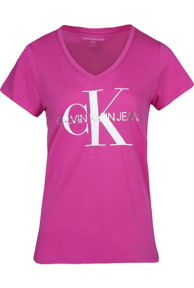 Calvın Kleın Kadın T-Shirt CJ1T1036-JWM