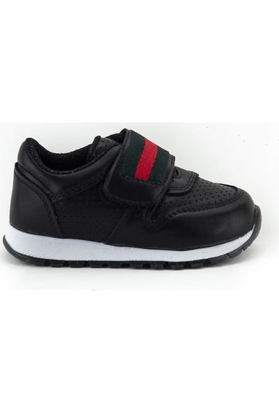 Minipicco Erkek Çocuk Siyah Spor Ayakkabı